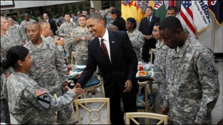 Obama: Irak'ta ağır bedel ödedik