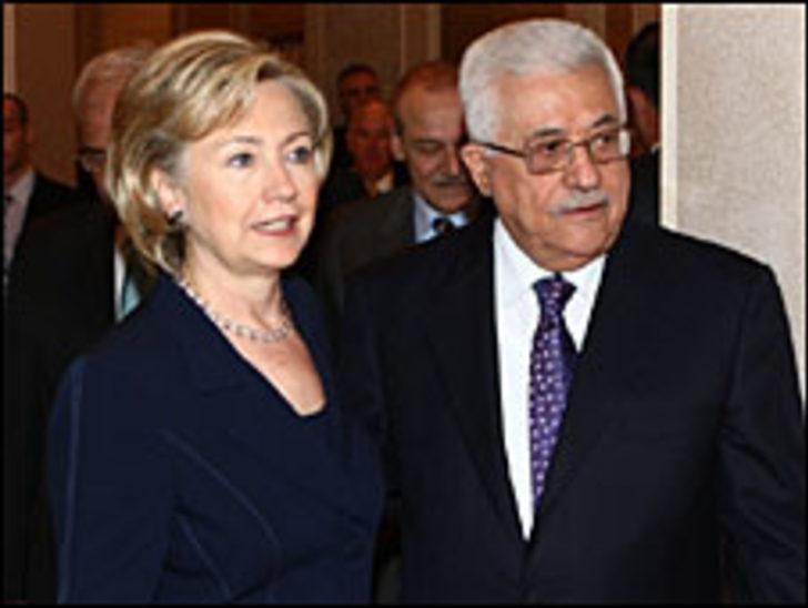 Hillary Clinton Abbas ile buluşuyor