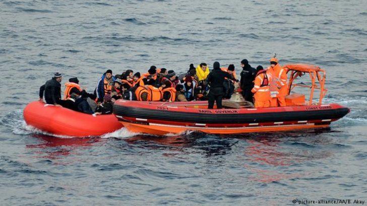 Frontex: Türkiye'den sığınmacı geçişlerinde artış