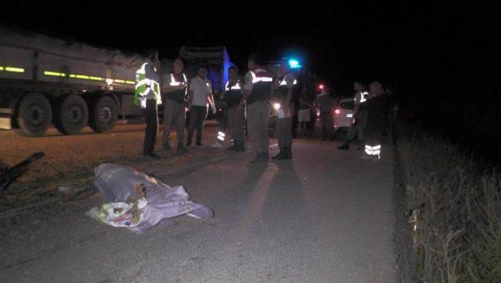Konya'da zincirleme kaza: 1 ölü, 1 yaralı