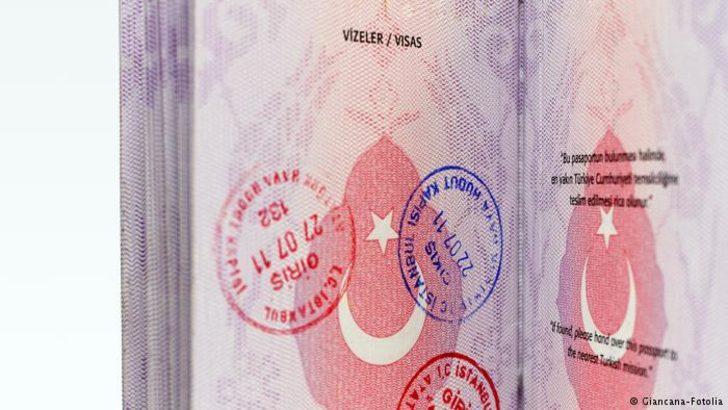 AB'den yeşil ve gri pasaportlara kayıt şartı