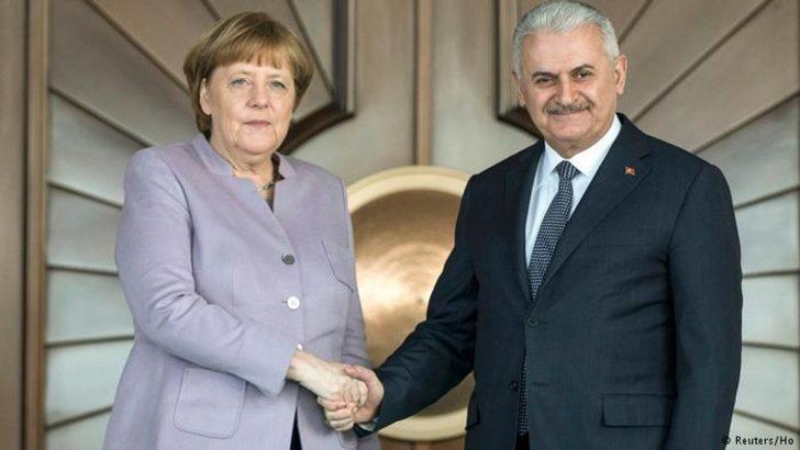 Berlin'de Merkel-Yıldırım buluşması