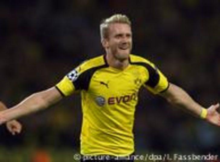 Dortmund 1 puanı Schürrle ile kurtardı