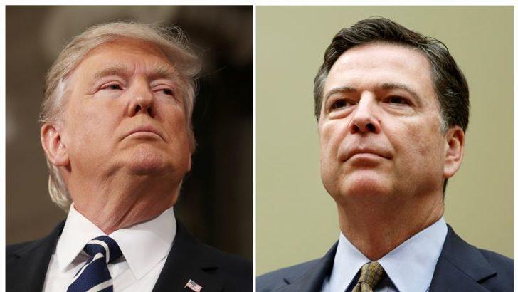 Trump Comey'den Bağlılık Bildirmesini İstemiş