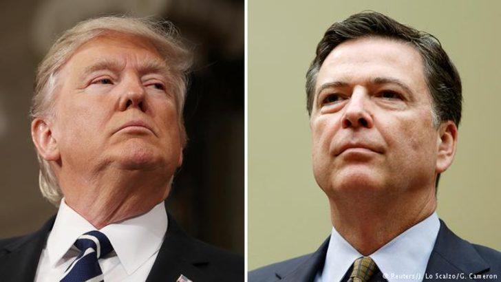"""Trump'tan kovduğu eski FBI Başkanı'na """"uyarı"""""""
