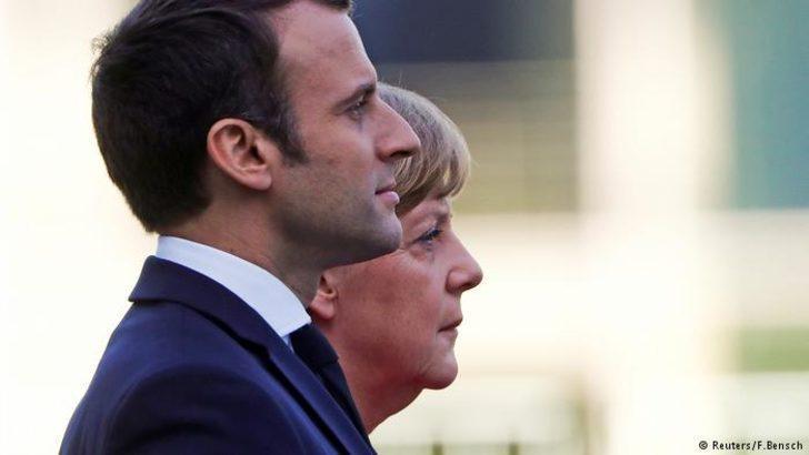 Merkel ile Macron orta vadeli yol haritasında anlaştı