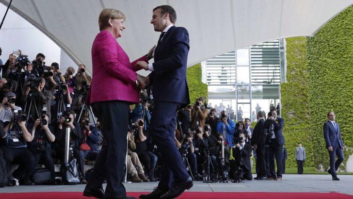 Berlin'de Merkel Macron Zirvesi