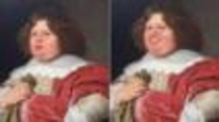 Sanat eserlerinde somurtkan kişilerin 'yüzleri güldü'