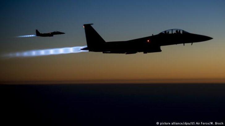 ABD Suriye'de rejim destekli konvoyu vurdu