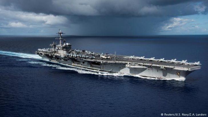 ABD'den K. Kore açıklarına  yeni uçak gemisi