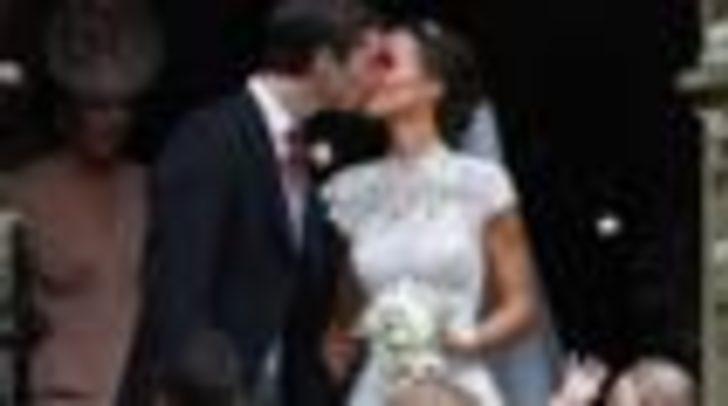 Fotoğraflarla: Pippa Middleton'ın düğünü