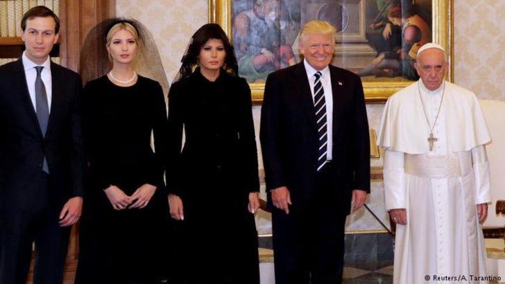 Vatikan'da 30 dakikalık görüşme