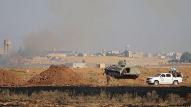 Özgür Suriye Ordusu ile YPG Çatıştı