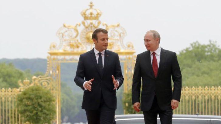 MacronPutin'den Sert ve Doğrudan İfadeler