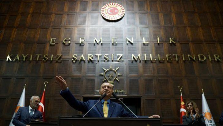 Erdoğan TBMM Grubunda Partisine 'Yola Devam' Dedi
