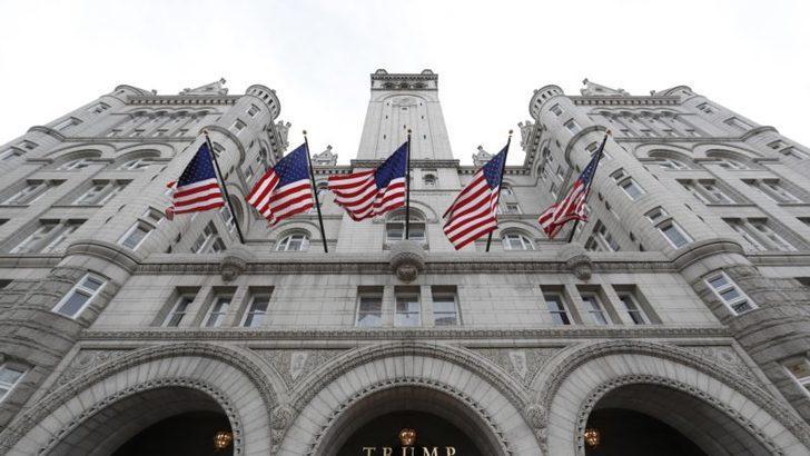 Trump'ın Otelinde Hareketli Dakikalar