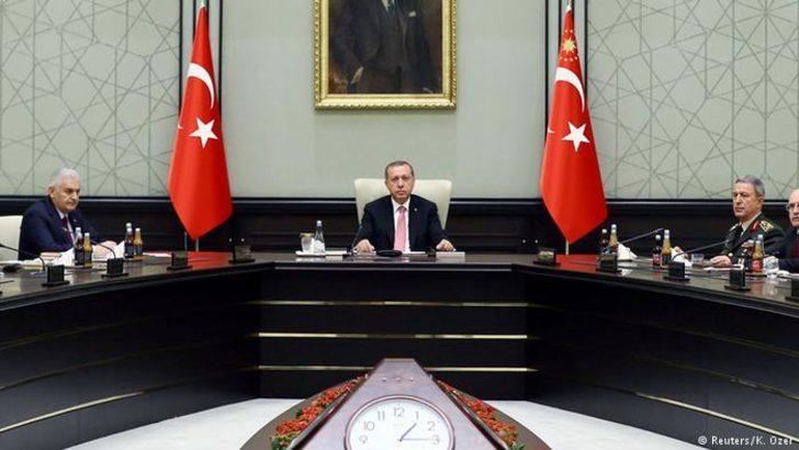 MGK toplantısından ABD'ye YPG eleştirisi