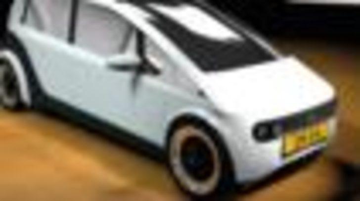 Hollanda'da üniversite öğrencileri ketenden otomobil yaptı