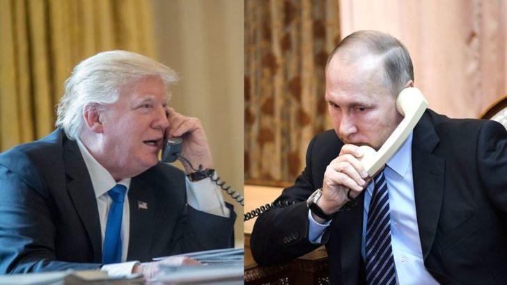 Putin ve Trump Bugün Telefonda Görüşecek