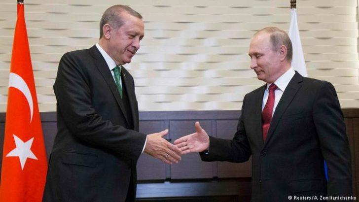 Erdoğan ve Putin'den 'güvenli bölge' açıklaması