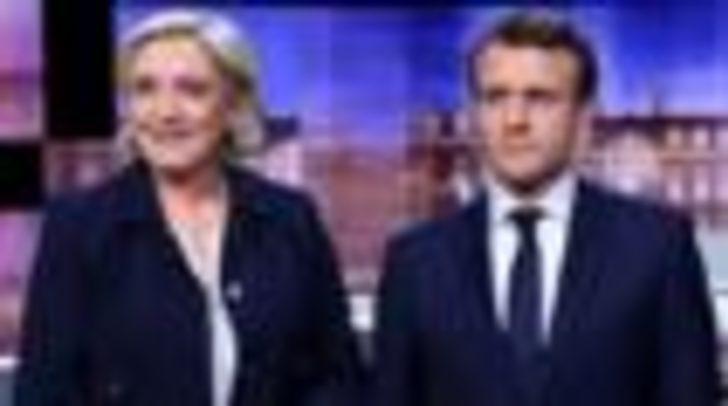 Fransa Seçimleri: Canlı yayındaki sert tartışmayı 'Macron kazandı'