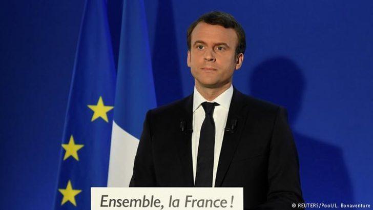 Macron: Yaşasın Cumhuriyet, yaşasın Fransa!