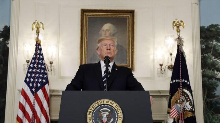 Trump: 'Tam Bir Şer Eylemi'