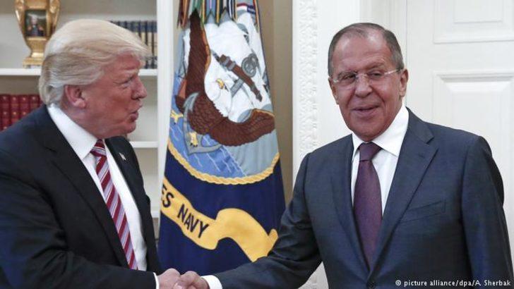 Trump'ın Rusya ile ilk teması