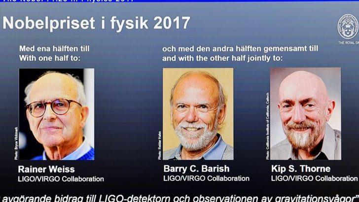 Nobel Fizik Ödülü Yerçekimi Gözlemcilerinin