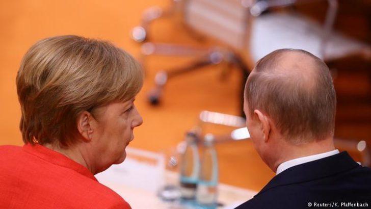 Merkel: Putin ile bir araya geleceğim
