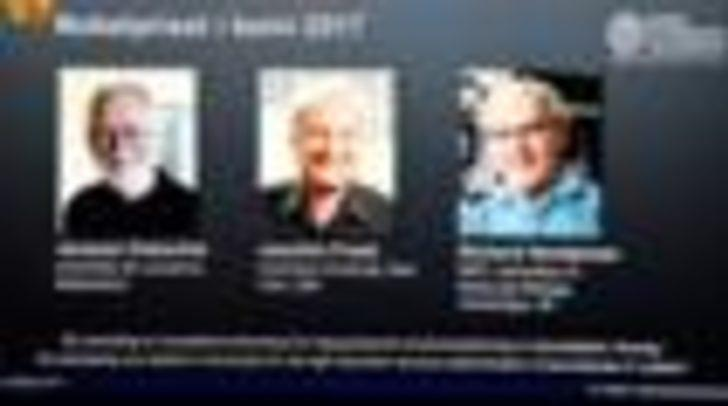 Nobel Kimya ödülü, biyomolekülleri 3 boyutlu olarak görüntüleyen bilim insanlarına verildi