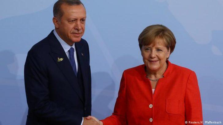 Erdoğan ile Merkel Suriye'yi görüştü