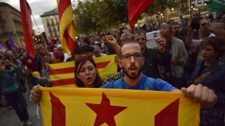 İspanya'da Ayrılıkçıların ve Milliyetçilerin Öfkesi Artıyor