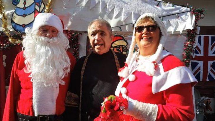 Köyceğiz'de Noel pazarı kuruldu