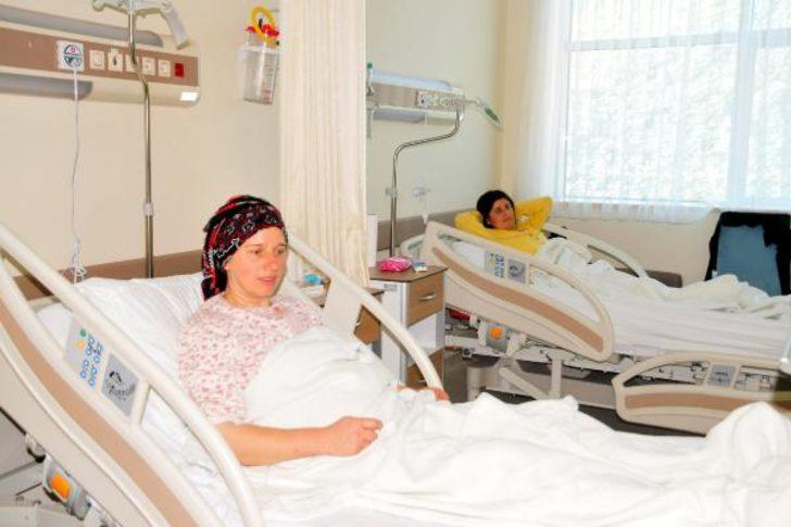Tokat'ta ilk kez ameliyatsız yöntemle kalp deliği kapatıldı (2)