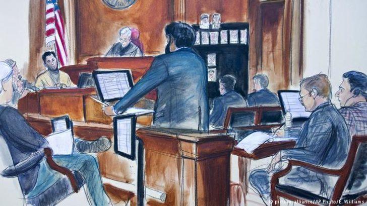 Tanık koltuğundaki Rıza Sarraf