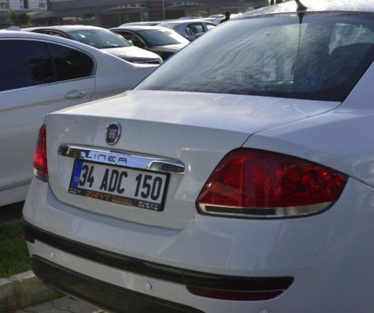 Terör saldırısı ihtimaliyle aranan sahte plakalı otomobil, Adana'da ele geçirildi