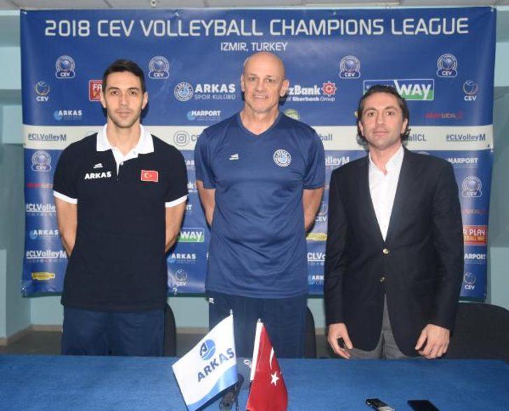 Arkasspor'da gözler Şampiyonlar Ligi'nde