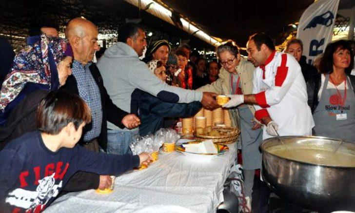 Yerli Malı Haftası'na 'çerçöp çorbalı' kutlama