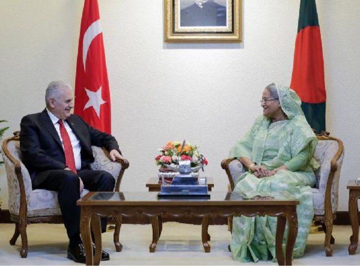 Başbakan Yıldırım Bangladeş Başbakanı ile görüştü