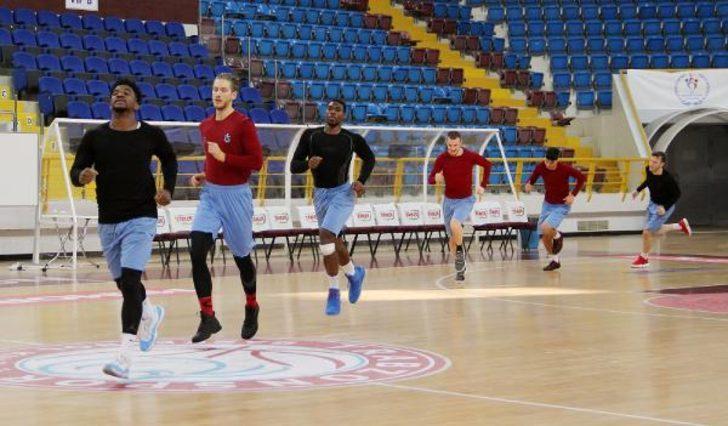Trabzonspor Basketbol Kulübü, Demir İnşaat Büyükçekmece maçı hazırlıklarını sürdürdü