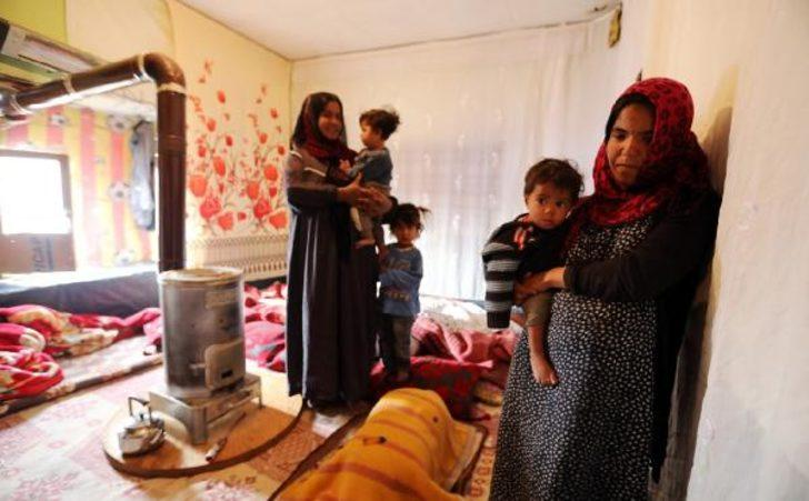 Çadırda yaşayan Suriyeli aileye belediye sahip çıktı