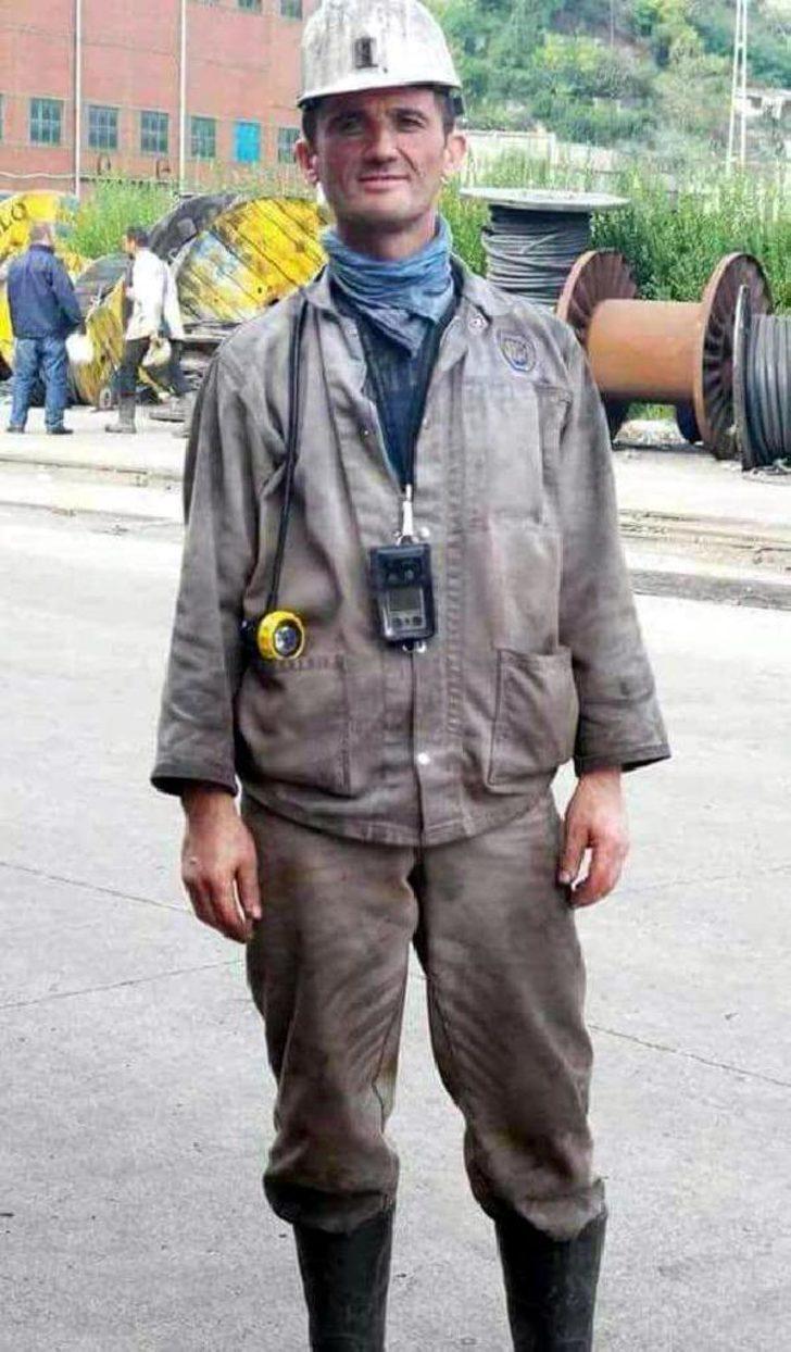 Zonguldak'ta ölen maden işçisi dualarla anıldı