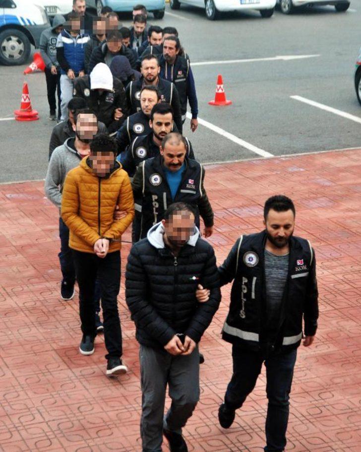 Bodrum'da göçmen kaçakçılığına 11 tutuklama