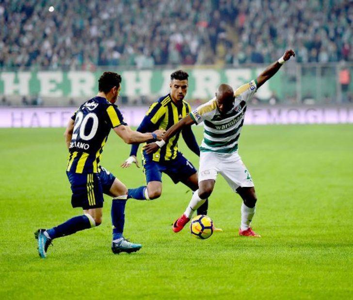 Bursaspor  Fenerbahçe (EK FOTOĞRAFLAR)