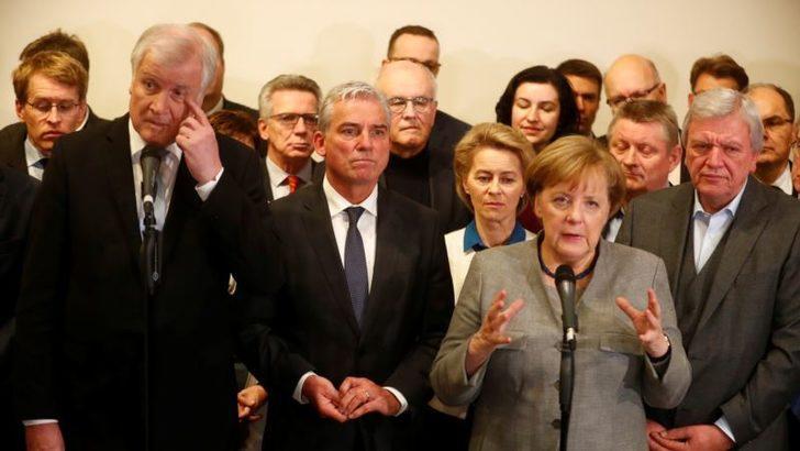 Almanya'da Gizli Koalisyon Görüşmeleri