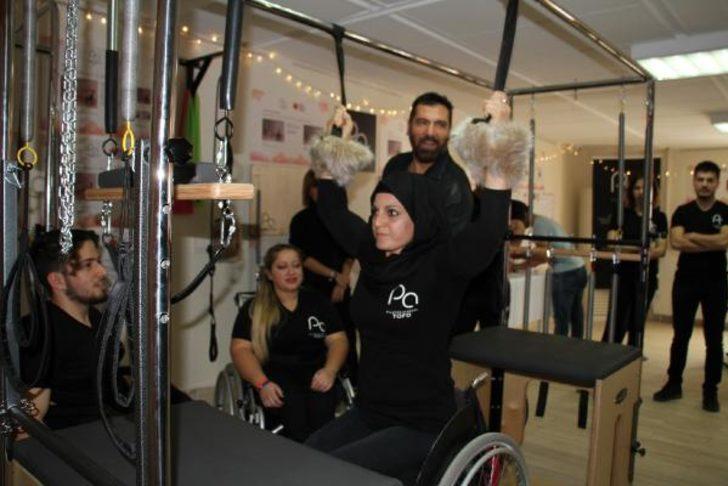 Engelliler için kurulan pilates stüdyosu, eğitmen yetiştirecek