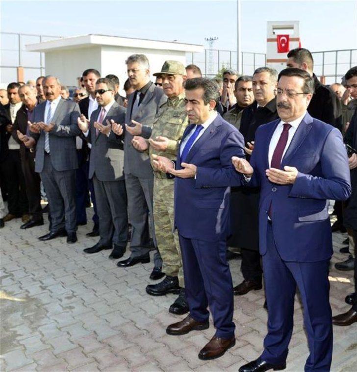 Bombalı saldırıda tahrip olan Mermer Jandarma Karakolu yenilendi