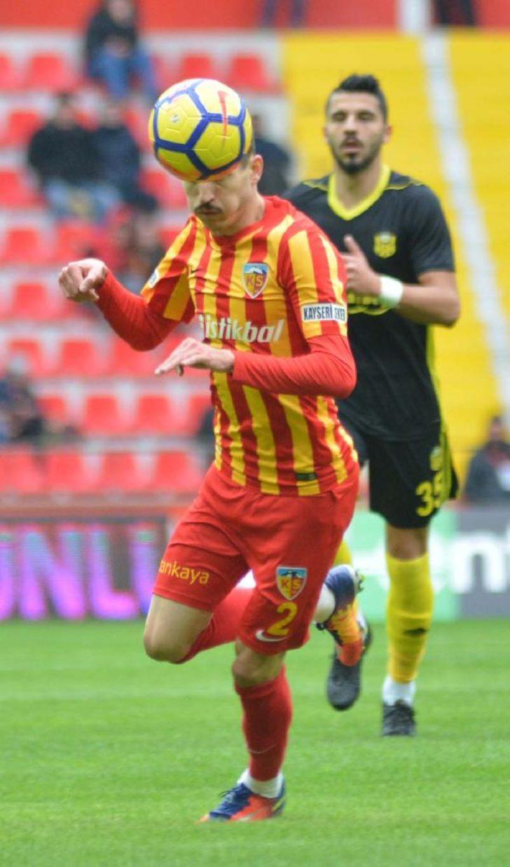 Kayserispor  Evkur Yeni Malatyaspor (EK FOTOĞRAFLAR)