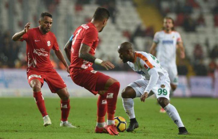 Antalyaspor  Aytemiz Alanyaspor (EK FOTOĞRAFLAR)